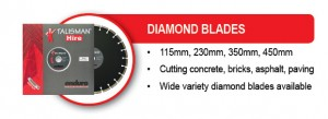 EQUIPMENT RANGE Diamond Blades 4Sep13