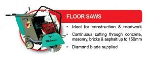 EQUIPMENT RANGE Floor Saws 4Sep13