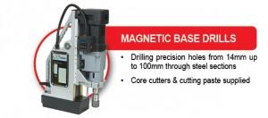 EQUIPMENT RANGE Magnetic Base Drills 4Sep13